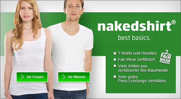 Nakedshirt - Best Basics - Fair Wear