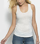 Dreams - Tank-Top aus Bio-Baumwolle - cream heather grey