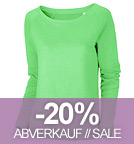 Escapes - Sweatshirt aus Bio-Baumwolle - paradise green