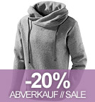 Wollpullover Lucca - Made in Germany - grau