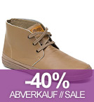 Safari Leather - Schnürschuhe aus Leder - crudo