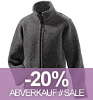 Wolljacke Jakob - Made in Germany - anthrazit