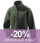 Wolljacke Jakob - Made in Germany - forrest
