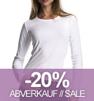Long-Sleeved Fitted T-Shirt weiss