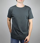 Classic Jersey T-Shirt charcoal