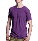 Bamboo Jersey T-Shirt eggplant