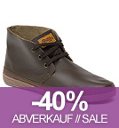 Safari Leather - Schnürschuhe aus Leder - marron