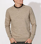 Strolls - Sweatshirt aus Bio-Baumwolle - slub heather clay