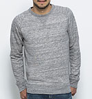 Strolls - Sweatshirt Bio-Baumwolle - slub heather grey