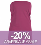 Charms - Tube-Top aus Bio-Baumwolle - pink
