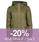 Guerilla Thermal Parka Ladies - Toxic Free - forest