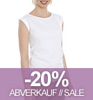Bessy - Rolled Sleeve T-Shirt - weiss