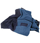 Wolldecke Blanket - Made in Germany - darkblue/ocean