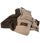 Wolldecke Blanket - Made in Germany - brown/stone