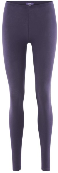 Leggings aus Bio-Baumwolle - plum