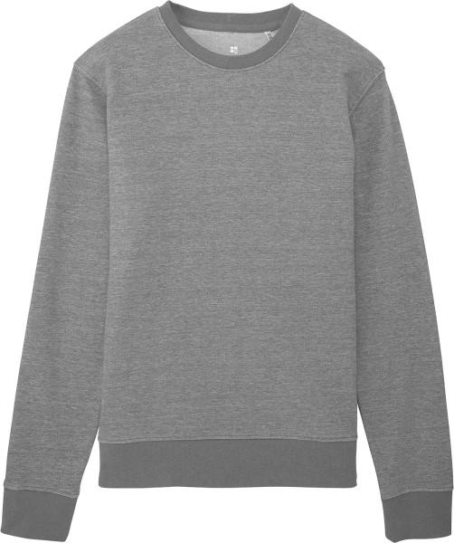 Sweatshirt Bio-Baumwolle - mid heather grey