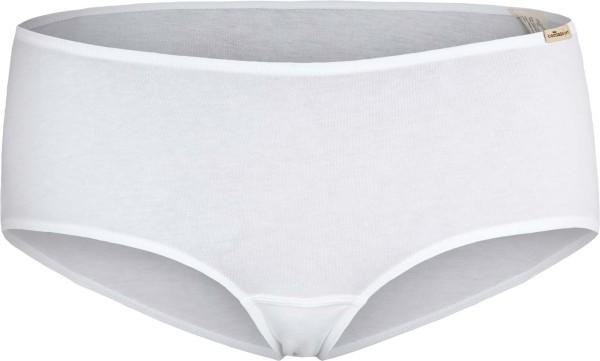 Panty aus Fairtrade Biobaumwolle - weiss