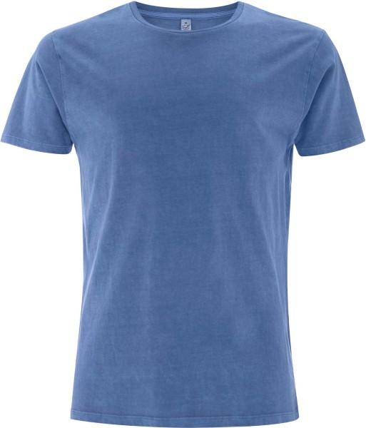 Tencel Blend T-Shirt - faded denim