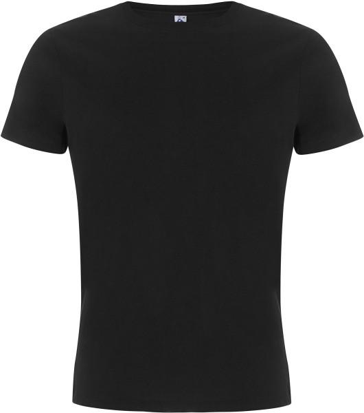 Herren T-Shirt schwarz Fairtrade Biobaumwolle FS01