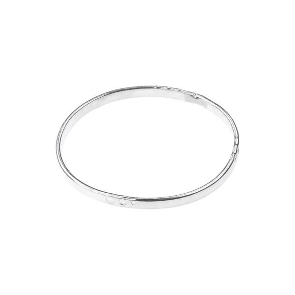 Dot Ring aus recyceltem Silber
