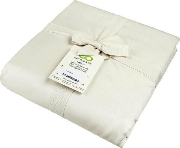 Bettdeckenbezug aus Bio-Baumwolle - natur