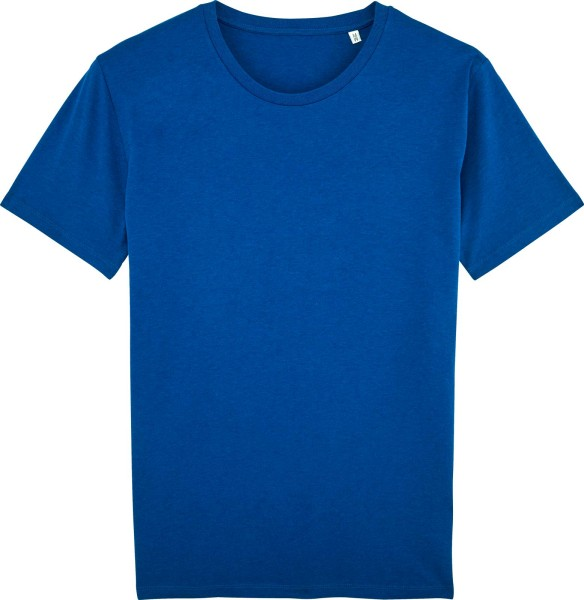 Leads - T-Shirt aus Bio-Baumwolle - mid heather royal blue