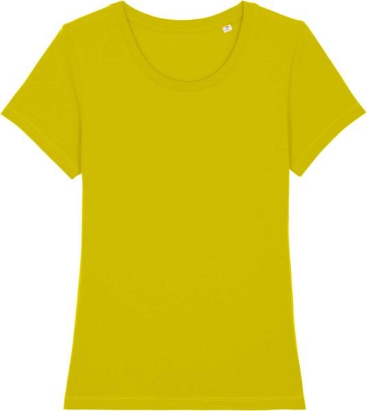 T-Shirt aus Bio-Baumwolle - hay yellow
