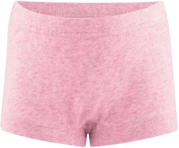 Mädchen Panty aus Bio-Baumwolle - rose melange