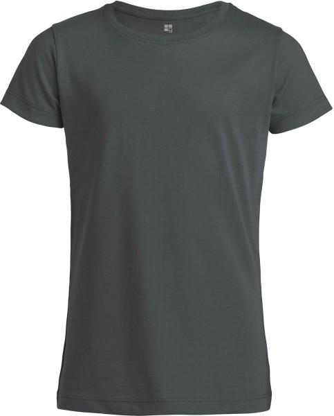 Kinder T-Shirt Bio-Baumwolle - anthracite