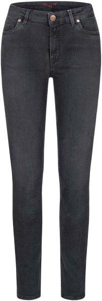 Hanna - 5 Pocket Jeans aus Bio-Baumwolle - raven black