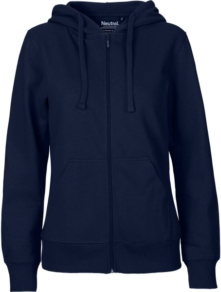 Zip-Up Hoodie aus Fairtrade Bio-Baumwolle - navy