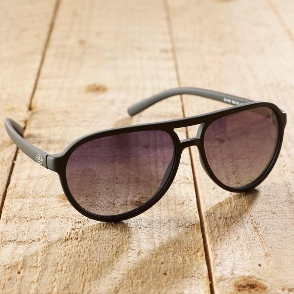 Bologna - Sonnenbrille aus recyl. Kunststoff - schwarz
