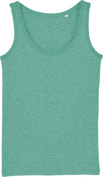 Tank-Top aus Bio-Baumwolle - mid heather green