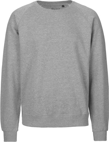 Organic Sweatshirt Fairtrade grau meliert - Bild 1