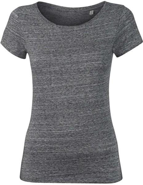 Wants - T-Shirt aus Bio-Baumwolle - slub heather steel grey - Bild 1