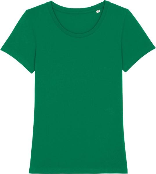 T-Shirt aus Bio-Baumwolle - varsity green