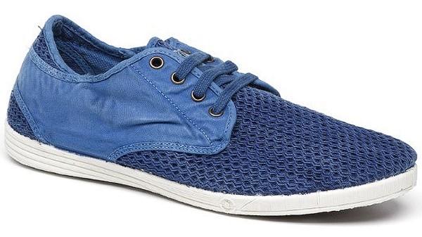 Deportivo Rejilla Enzimatico - Sneaker Bio-Baumwolle azul fr. - Bild 1
