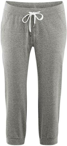 Damen 3/4-Relax-Hose aus Bio-Baumwolle - stone grey - Bild 1