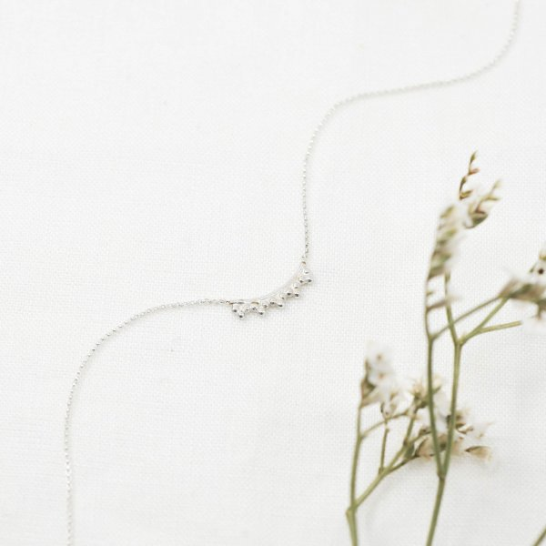 Filigree Choker Necklace - Kette aus recyceltem Silber