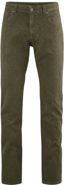 Jerome - Five-Pocket Hose aus Hanf/Bio-Baumwolle - wolf - Bild 1