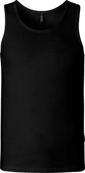 Wrestler Tanktop aus Fairtrade Bio-Baumwolle - schwarz