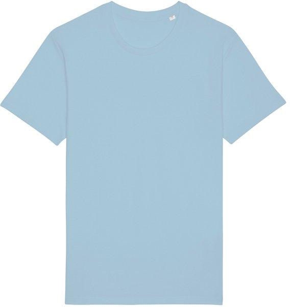 Basic T-Shirt aus Bio-Baumwolle - sky blue