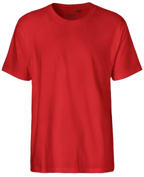 T-Shirt Classic Männer rot fair - Neutral O60001