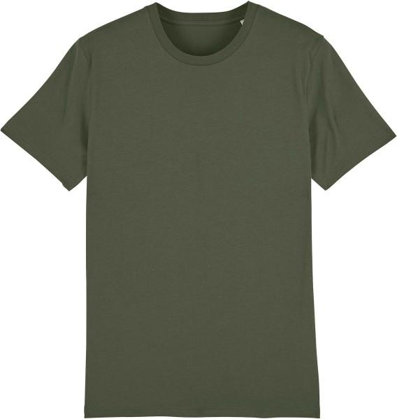 T-Shirt aus Bio-Baumwolle - khaki