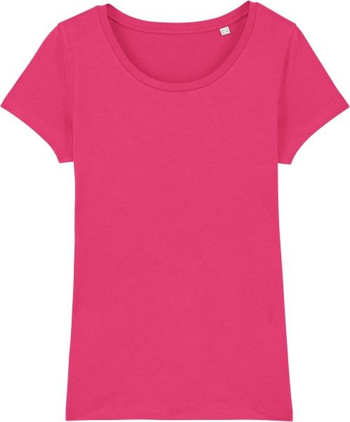 Jersey-Shirt aus Bio-Baumwolle - raspberry