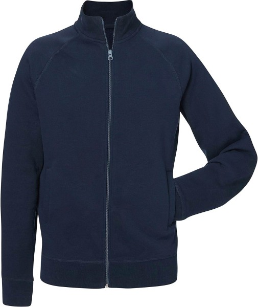 Trails - Sweatjacke aus Bio-Baumwolle - french navy - Bild 1