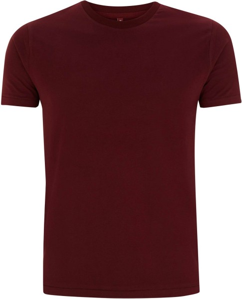 Men''s Urban Brushed Jersey T-Shirt burgundy