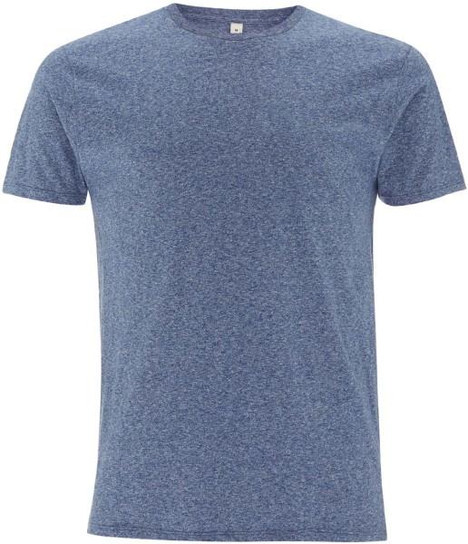 Herren T-Shirt aus Bio-Baumwolle blue twist