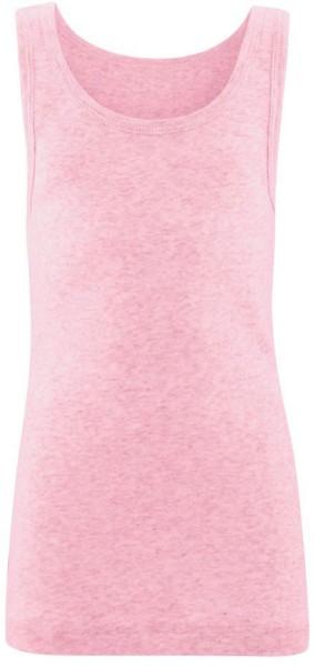 Kinder Unterhemd aus Bio-Baumwolle - rose melange