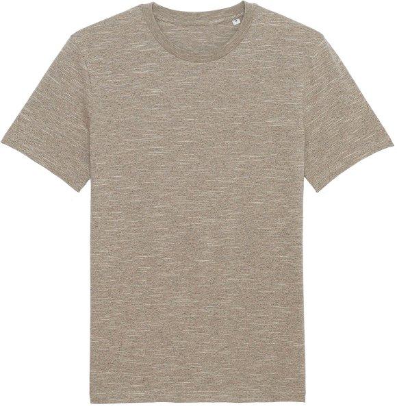 T-Shirt aus Bio-Baumwolle - wooden heather